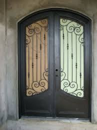 wrought iron exterior doors. Simple Wrought Iron Front Doors Exterior