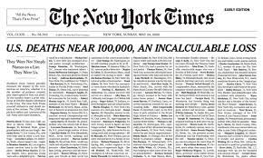 Incalculable loss': New York Times ...