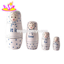 china customize wood crafts wooden russian nesting dolls with high quality w06d084 china nesting dolls russian nesting dolls