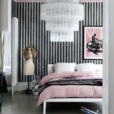 Pink Zebra Wall Mirror Bedroom Monochromatic Bedroom Interior Design Theme  Grey Wood Flooring Vintage Dark Frame Mirror Zebra Full Length Wall Mirrors  For ...