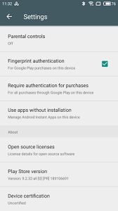 Google Play Customer Service Google Services Blocked On Uncertified Devices Elcomsoft Blog