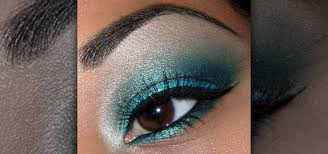 how to create a shimmery turquoise blue eye makeup look makeup wonderhowto