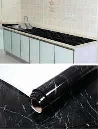 contact paper for kitchen countertops black marble waterproof vinyl self adhesive wallpaper sticker modern contact paper kitchen shelf drawer liner decals