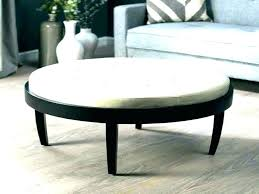 engaging round leather ottoman coffee table with storage oversized leather ottoman coff table large ottomans furniture