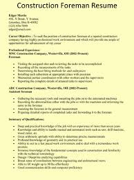 Construction Resume Examples Stunning Pin By Ashley Distel On Dad Pinterest Resume Examples And Sample