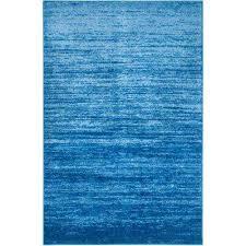 adirondack light blue dark blue 5 ft x 8 ft area rug