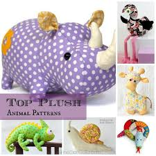 Animal Sewing Patterns Unique Top 48 Toy Animal Sewing Patterns CrAfTy 48 ThE CoReDIY GaLoRe