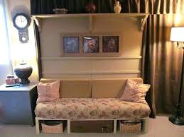 bed with couch bedroom table lamp frosted glass maxim floor gold leaf cabinet murphy diy plans