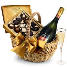 sparkling prosecco chocolate gift her