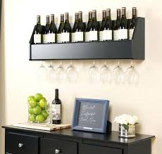 wall mounted wine and glass rack awesome wall wine glass rack wall mounted wine glass rack