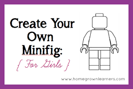 Small Picture Create Your Own LEGO Minifigures Printables For Boys Girls