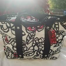 Coach🌺Poppy🌺Floral Graffiti Tote Bag