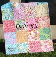 Baby Quilt Kit, Splendor by Lila Tueller for Riley Blake Fabrics ... & Baby Quilt Kit, Splendor by Lila Tueller for Riley Blake Fabrics, Blanket  DIY, Adamdwight.com