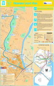 Phoenix Light Rail Stops Map Newark Light Rail Map