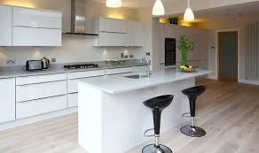 Small Fitted Kitchen White Wooden Fitted Kitchens Attractive Personalised Home Design