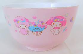 My Melody Rice Bowl - Baby Shower 4901610077986 | eBay
