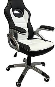 black and white office furniture. perfect furniture viscologic series gaming racing style swivel height adjustable home office  computer desk chair black for black and white furniture