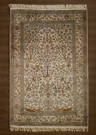 pictorial silk carpet for wall hanging from carpets of kashmir mumbai india