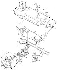 Murray riding lawn mower drive belt diagram wiring diagram