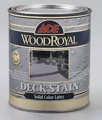 Ace Wood Royal Deck Stain Color Chart Ace Wood Royal Latex Solid Color Deck Stain Household Wood