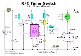 wiring diagram for switch timer the wiring diagram r c timer switch for radio control applications circuit wiring wiring