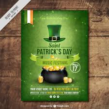 Free Flier Template Freebie 5 Free Flyer Poster Templates For St Patricks Day