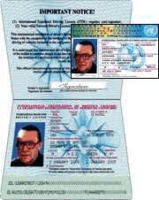 License Drivers Permit - Driving International