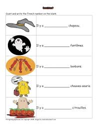 halloween vocabulaire halloween french and fle french worksheets halloween