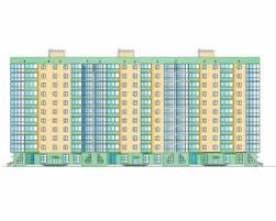 Скачать бесплатно дипломный проект ПГС Диплом №  Диплом №2073 Проектирование и строительство 3 х подъездного монолитного жилого дома с магазином на первом этаже в г Юрга