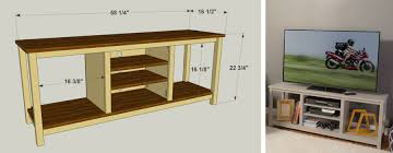 create a stylish home for your television with this simple good looking stand it offers space for a large flat screen tv and has additional space for