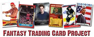 Trading Card Design Fantasy Card Design Bci Senior Comm Tech