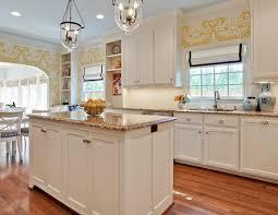 white kitchen cabinets with granite countertops