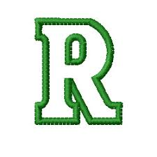 Kids Block Letter R Embroidery Designs Machine Embroidery Designs