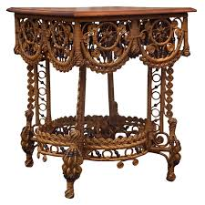 wicker table 1890's