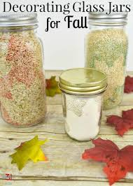 How To Decorate A Glass Jar Decorating Glass Jars for Fall Organized 100 98