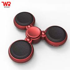 WPAIER wireless Bluetooth speaker LED Flashing lights spinner speaker  support bluetooth call High quality funny COOL