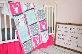 Dream Catcher Crib Bedding Cool Dreamcatcher Baby Girl Crib Bedding A Vision To Remember