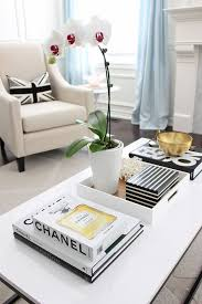 style a pretty fashion coffee table