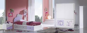 painted kids furniture. Space Saving Trundle Bed Ideas For Kids Bedroom : Spacious Room Design With White Painted Furniture O