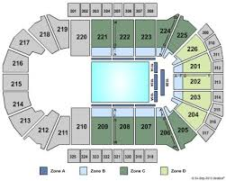 Resch Center Seating Map Resch Center Seating Chart Pbr