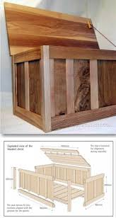 choosing wood for furniture. Blanket Box Plans - Furniture And Projects | Http://WoodArchivist.com Choosing Wood For