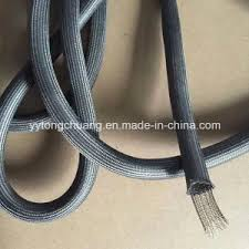 oven door gasket. glass fibre oven door sealing rope with stainless steel wire. gasket