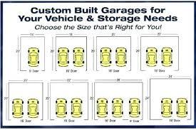 Garage Size Chart Viavoeding Info