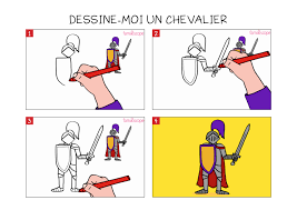 Voici Notre Tuto Pour Apprendre Dessiner Un Chevalier Trop