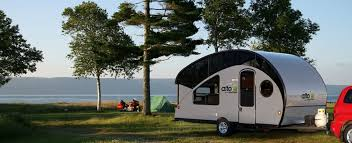 teardrop trailer transforms into a large family camper