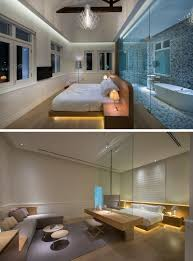lighting bed. 9 Bedrooms With Beds That Feature Hidden Lighting // Here\u0027s Another Hotel, This Time Bed L