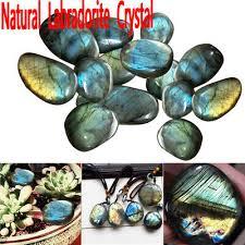 <b>1PC</b> Brand New <b>Natural</b> Labradorite <b>Crystal Rough</b> Polished Rock d6