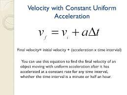 equation to find final velocity jennarocca