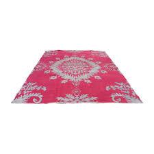 one kings lane one kings lane johanna fuchsia rug rugs