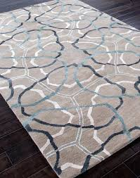 blue grey area rug tended aegean light by andover mills tan sofia gray darby home co